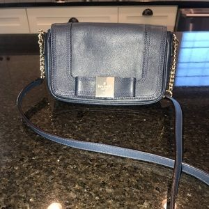 Kate Spade navy crossbody bag.  Like new.